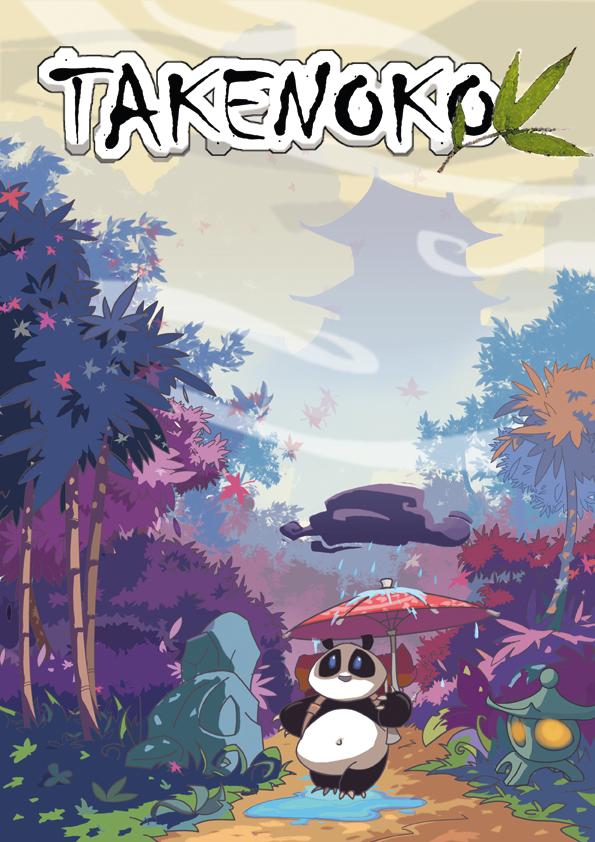 Couverture de la boîte du jeu Takenoko